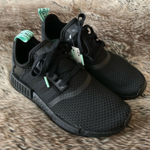 Adidas NMD R1 Women's Shoes Mint Glow NWT